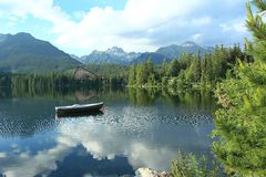 Strbske pleso Stock Photography