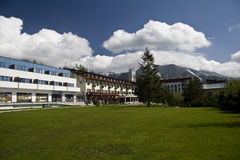 Strbske pleso resort Stock Images