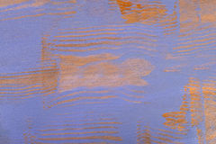 Streaked wood painted in blue Royalty Free Stock Photography
