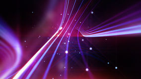 Streaking shiny purple lines as abstract background Royalty Free Stock Photography
