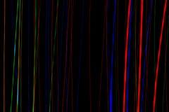 Streaks of light Stock Images