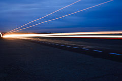Streaks of light Stock Photos