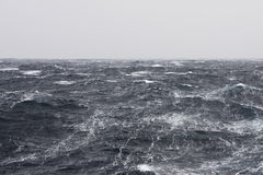 Streaks at Stormy Ocean stock photo