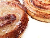 Streaky καπνισμένο χοιρινό κρέας Στοκ φωτογραφία με δικαίωμα ελεύθερης χρήσης
