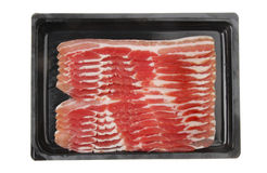 Streaky bacon Stock Photography