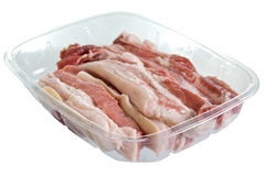 Streaky pork Royalty Free Stock Photos