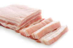 Streaky pork Stock Photos