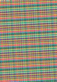 Streaky Texture. Abstract Background - Thin Color Strips Fabric Texture stock illustration