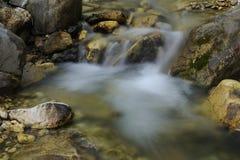 Stream. Nature water.Image of waterfall in denizli-turkey stock photography