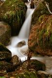 Stream. Of water through rocks. Long exposure Stock Images