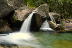 Stream. The Slovak Republic 2008 - Studen� potok - stream Royalty Free Stock Photo