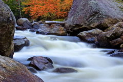 Stream Adirondack Park. A stream flowing in the adirondack park near lake placid in the state of New York Stock Image