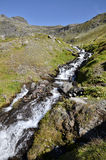 Stream in the Alps in France Royalty Free Stock Images