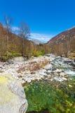 Stream in the Alps Stock Photos