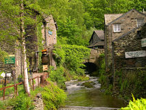 Stream in Ambleside in the English Lake District Stock Images