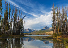 Free Stream And Mountain Lake In The Fall Stock Images - 21751204