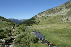 Stream in Andorra Royalty Free Stock Image