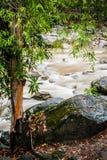 Stream of Chamang Fall Royalty Free Stock Photos