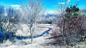 Stream through countryside Royalty Free Stock Photo