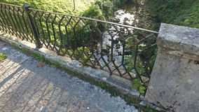 Stream in Covadonga 01 stock video footage