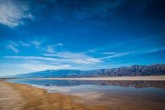 Stream in the Desert Stock Image