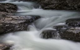 Stream Flowing with Rocks Royalty Free Stock Photography