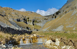 The Stream from Gordale Scar Royalty Free Stock Image