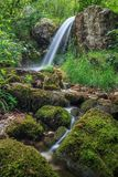 Stream in Gorge Tasnei. Baile Herculane, Romania Royalty Free Stock Images