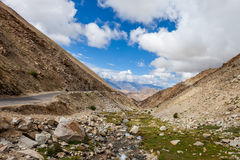 Stream in the Himalayas Stock Image