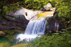 Stream in huangshan mountain Royalty Free Stock Photography