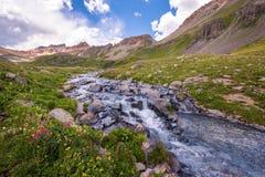 Stream at Ice lake Basin, Colorado Stock Photos