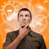 Stream of ideas Royalty Free Stock Photo