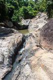 Stream at Koh Phangan island Royalty Free Stock Image