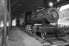 Stream Locomotive No. 11, Saltville, Virginia, USA Royalty Free Stock Photo