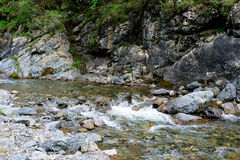 A stream in a mountain Stock Photography