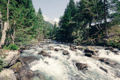 Stream in the mountains Royalty Free Stock Image