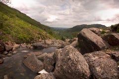 Stream in mountains Stock Photo