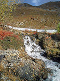 Stream in Muktinath, Annapurna trekking, Nepal Stock Image