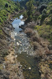 Stream of Oeiras Creek Royalty Free Stock Photo