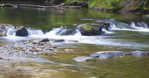Stream over rocks Royalty Free Stock Photography