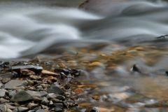 Stream and Rocks Royalty Free Stock Images