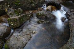 Stream and rocks stock image