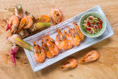 Stream shrimp Royalty Free Stock Images