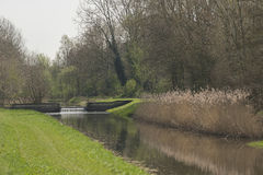 Stream the Slingebeek in the Netherlands Royalty Free Stock Photography