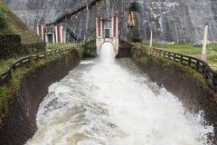 Stream of Speedy Water Stock Image