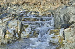 Stream and stones 1 Royalty Free Stock Images