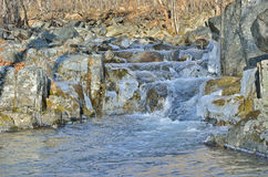 Stream and stones 3 Stock Photos