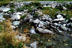 Stream. A stream with stones by sunshine Stock Images