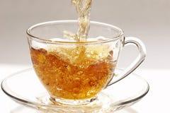 Stream of tea Royalty Free Stock Photo