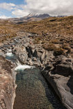 Stream in Tongariro National Park Royalty Free Stock Image